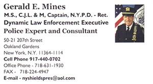 Mines, Gerald - B.Card