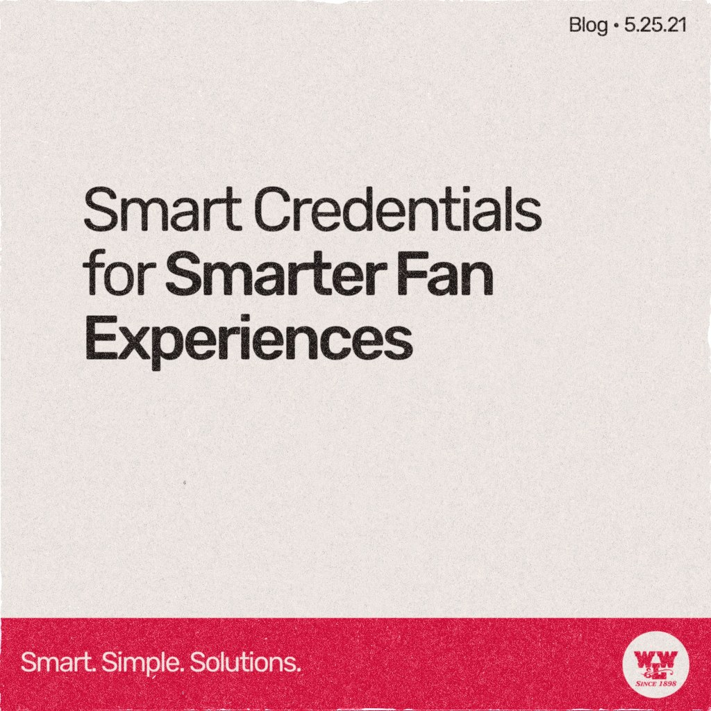 Use smart RFID credentials to create an intelligent fan experience