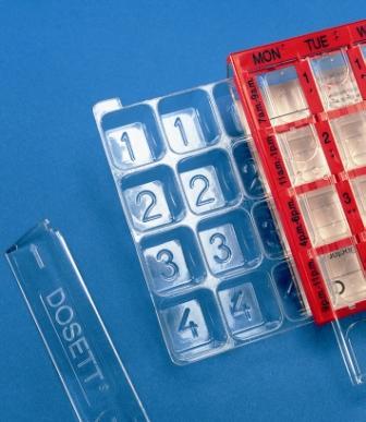 Dosett Medi Insert Tray