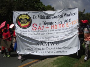 Read more about the article Municipal workers continue their struggle against corruption