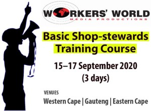 Read more about the article Basic Shop-stewards Training Course | 15–17 September