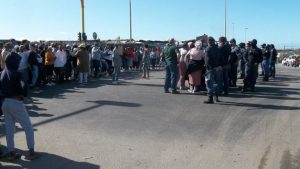 Read more about the article Khayelitsha residents protest against overflowing sewage