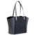 Etta Piñatex Tote Bag Black & Japanese Blue