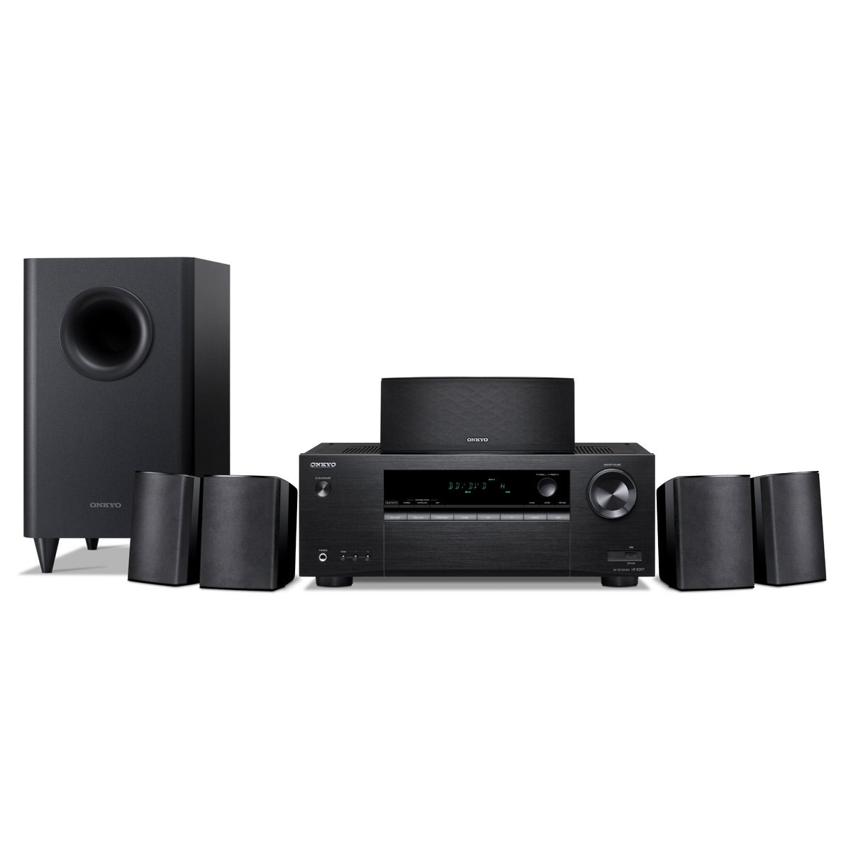 Onkyo HTS3900 51 Channel Home Theater ReceiverSpeaker