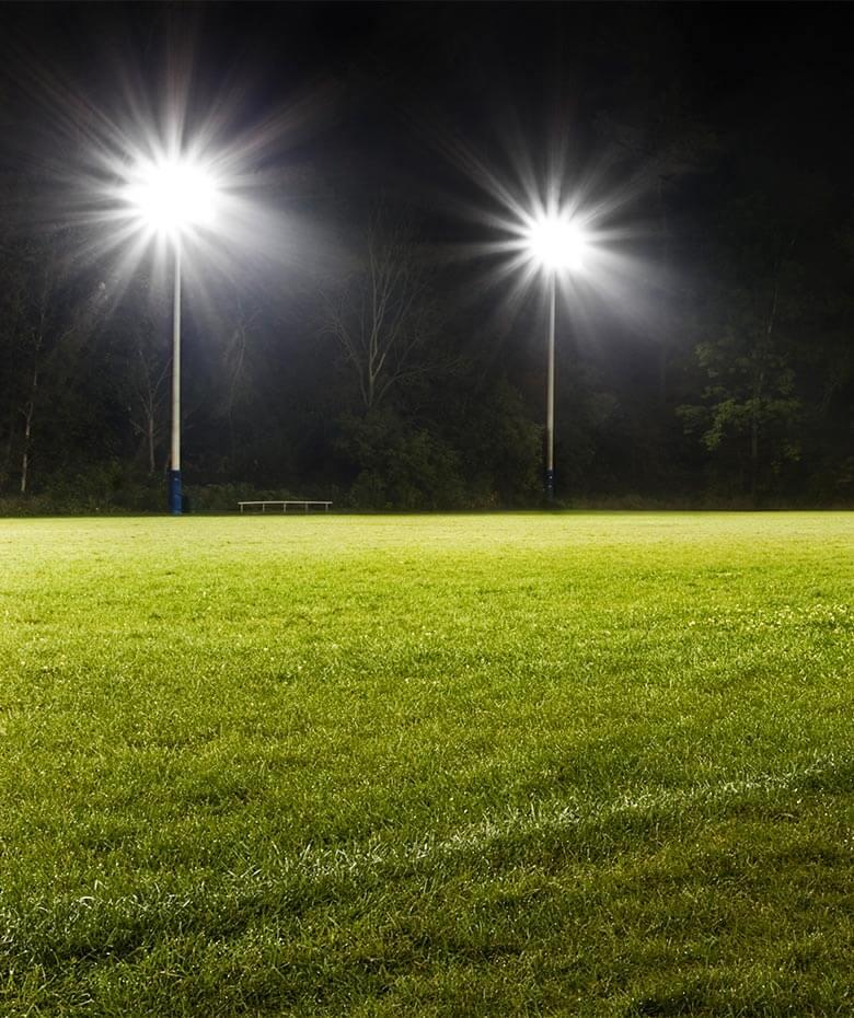 sports field lighting excel power