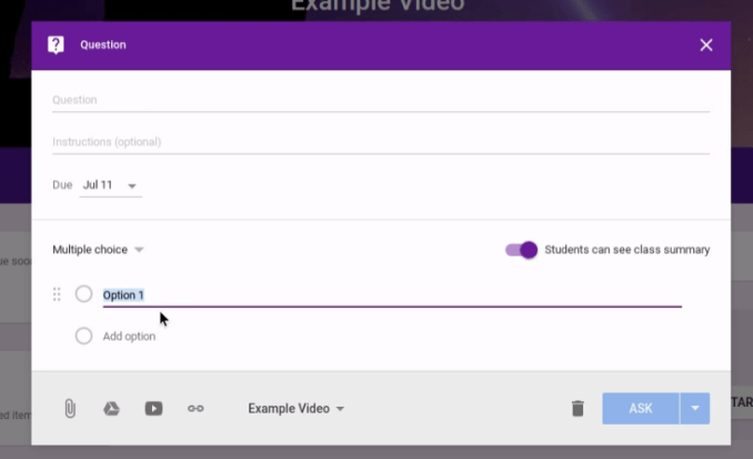 How to Use Google Classroom - Questions