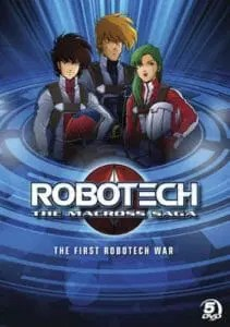Robotech the Macross Saga Boxart