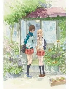 Kase-san and Morning Glories OVA Anime Visual