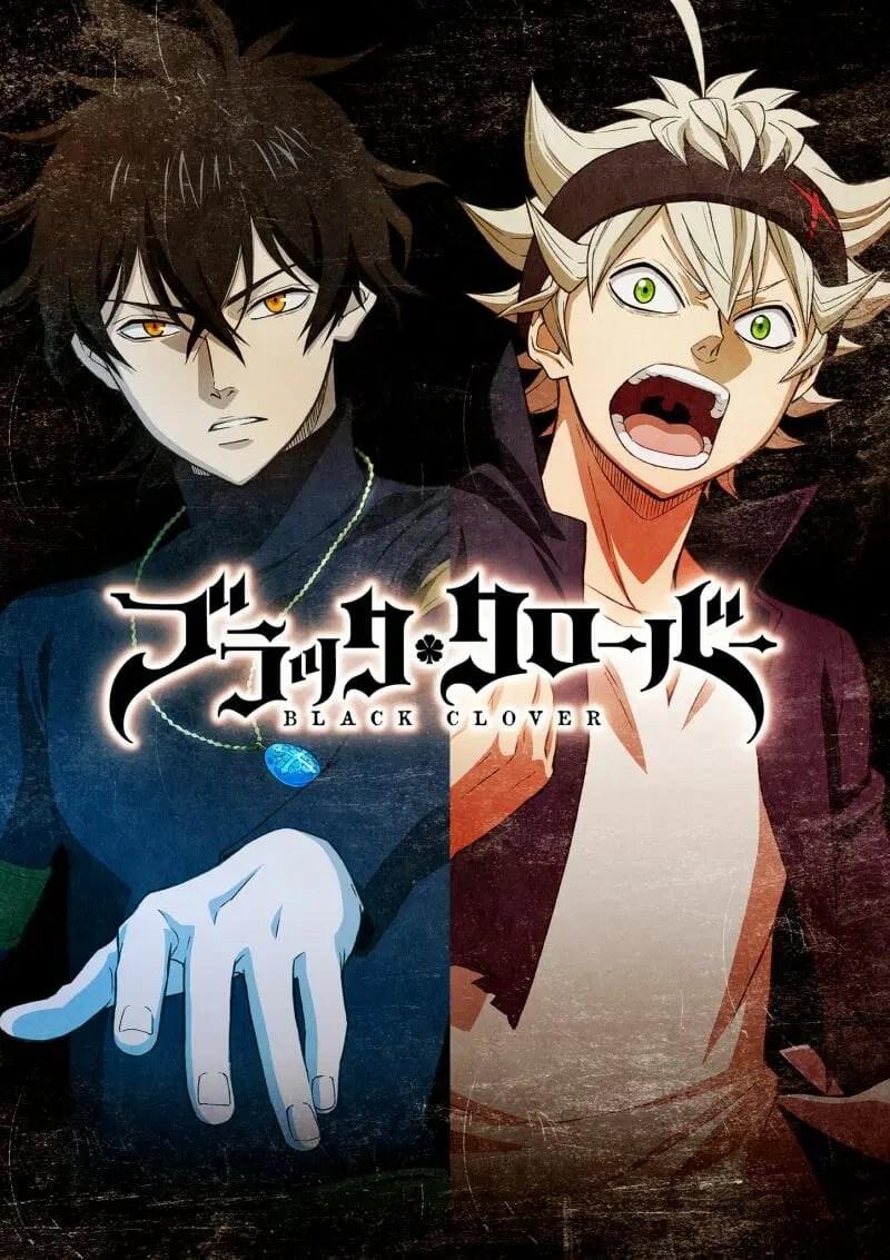 Black Clover Anime Key Visual