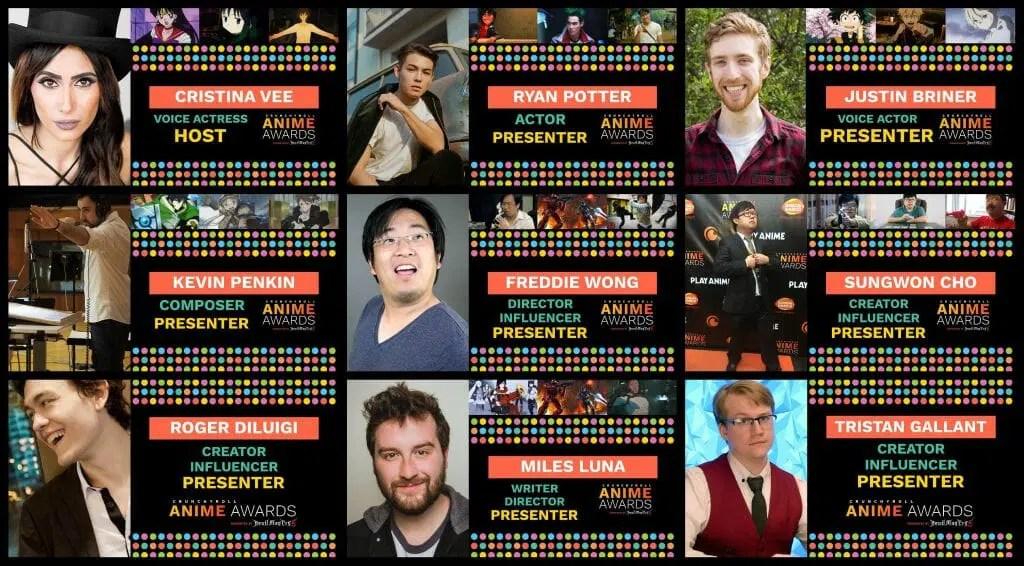 Anime Awards Host List