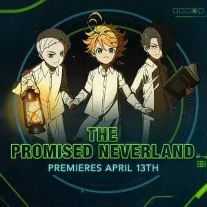 The Promised Neverland Toonami Visual