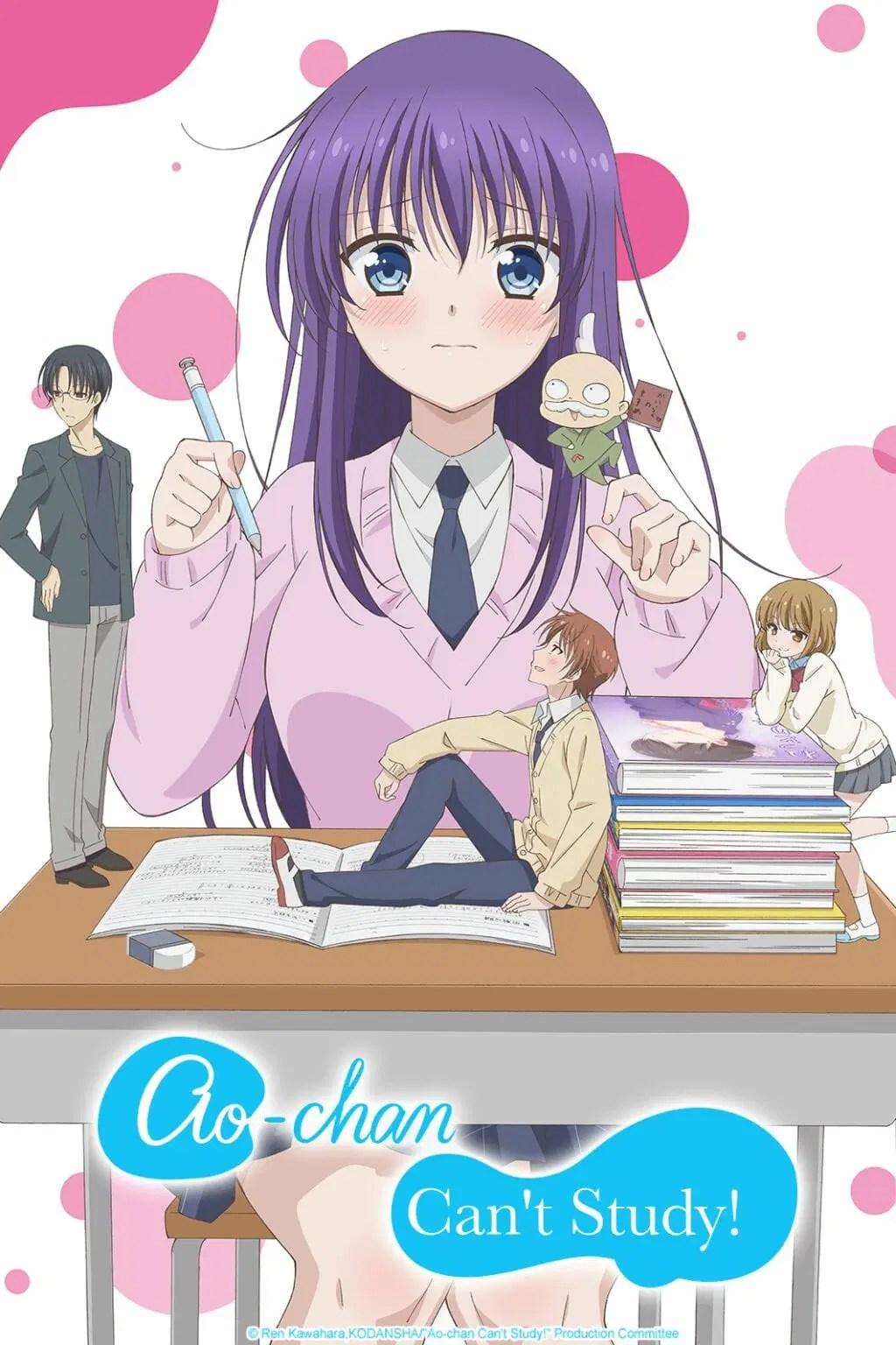 Ao-chan Cant Study Anime Visual