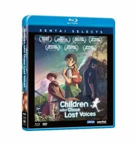 Children Who Chase Lost Voices Blu-Ray Boxart