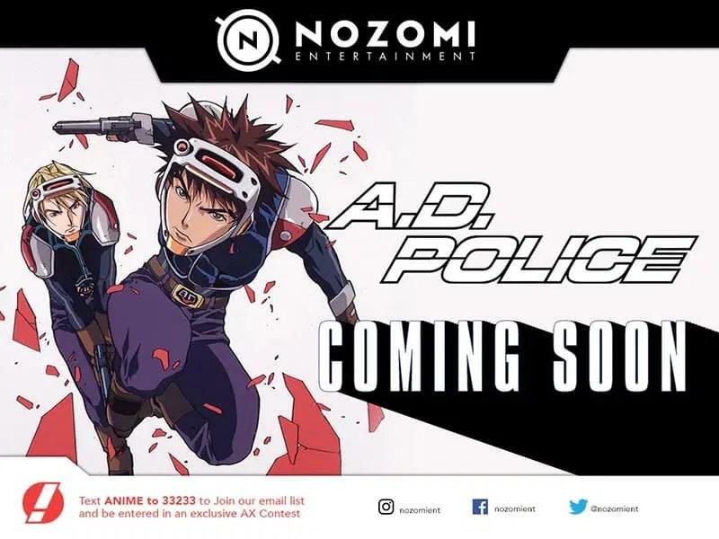 A.D. Police Anime Visual