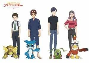 Digimon Adventure Last Evolution Kizuna Anime Visual