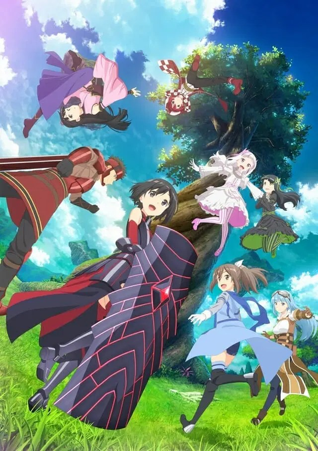 BOFURI Anime Visual