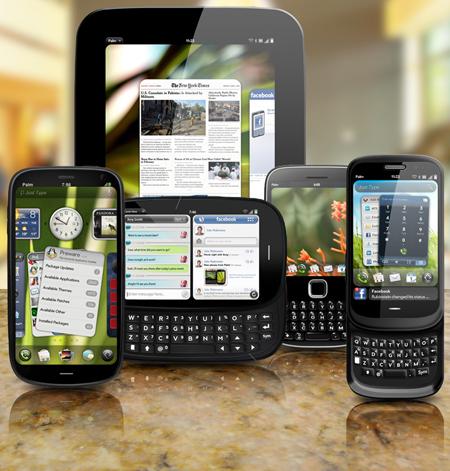 palm new devices - Códigos de 5 possíveis aparelhos HP Palm vazam no webOS 2.0