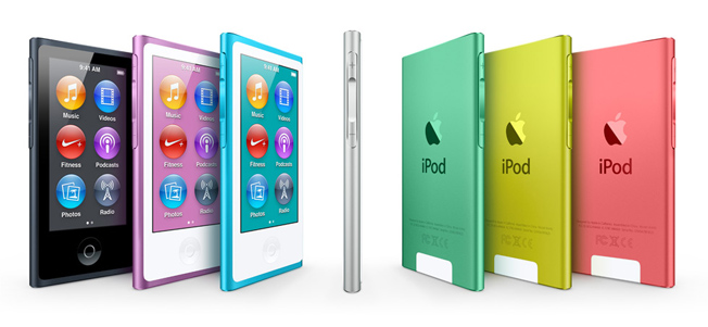 Apple New iPod Nano 2012