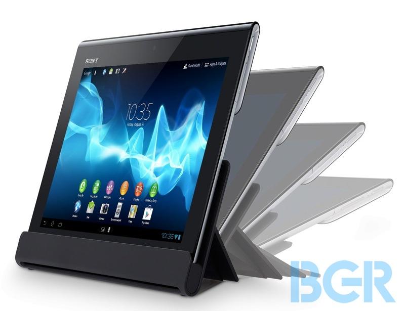 gambar tablet sony xperia terbaru, foto dan detail fitur tablet xperia 2012, tablet pc android sony xperia