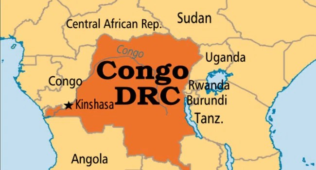 The Democratic Republic of the Congo, also known as DR Congo, the DRC, DROC, Congo-Kinshasa, or simply the Congo, is a country located in Central Africa