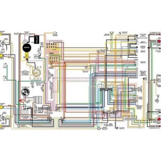 1957 chevy wiring schematic  wiring diagram circuitwindow