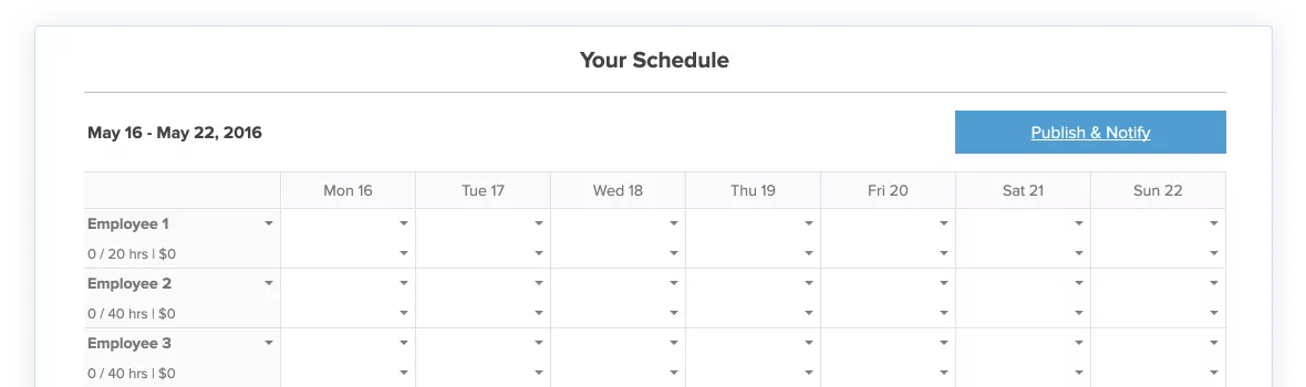 Managing workers' shifts is easy with this employee scheduling template. Free Work Schedule Template For Excel Zoomshift