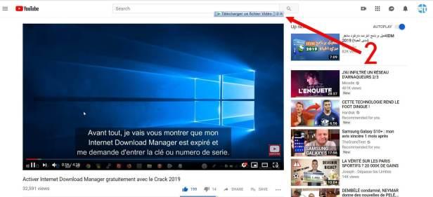 Telecharger ce fichier Vidéo avec IDM - Télécharger Une Vidéo YouTube Gratuit en ligne – Tutoriel IDM en français