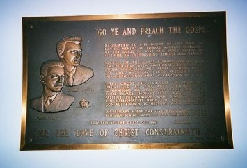 Image:Captain Phoebus / Wikimedia / Creative Commons. The original plaque was erected in 1957.