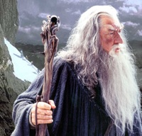 Ian McKellen As Gandalf