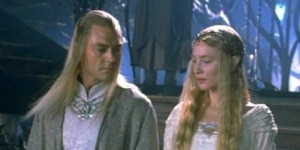 Galadriel and Celeborn