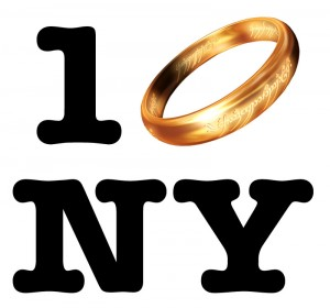NYCC One Ring New York 1 Ring New York