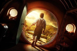 The Hobbit Bag End Door