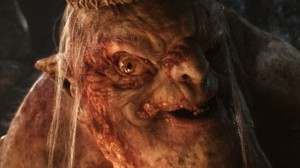 """The Goblin King from """"The Hobbit: An Unexpected Journey"""""""