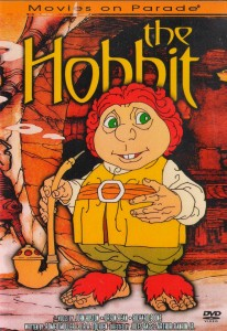The 1977 animated version of The Hobbit by Rankin and Bass.