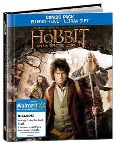 The Wal-Mart exclusive version of The Hobbit: An Unexpected Journey
