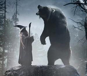 Beorn with Gandalf