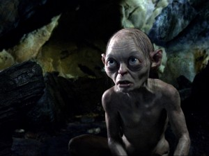 The new Gollum in The Hobbit is technologically updated from the LOTR trilogy.