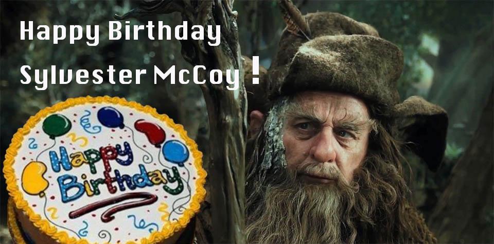 Sylvester McCoy Birthday