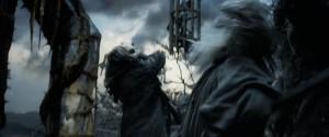 Thrain attacks Gandalf at Dol Guldur