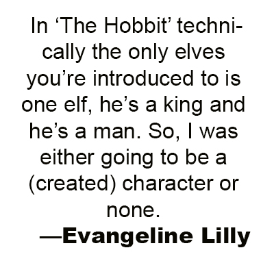 Evangeline Lilly quote 2