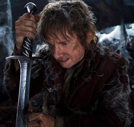 Bilbo in The Hobbit: The Desolation of Smaug
