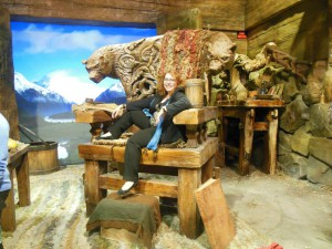 Me in Beorn's chair.