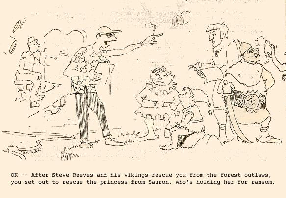 Cartoon by Tim Kirk