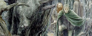 The three hunters by Alan Lee