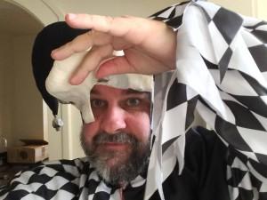 Peter Jackson in costume