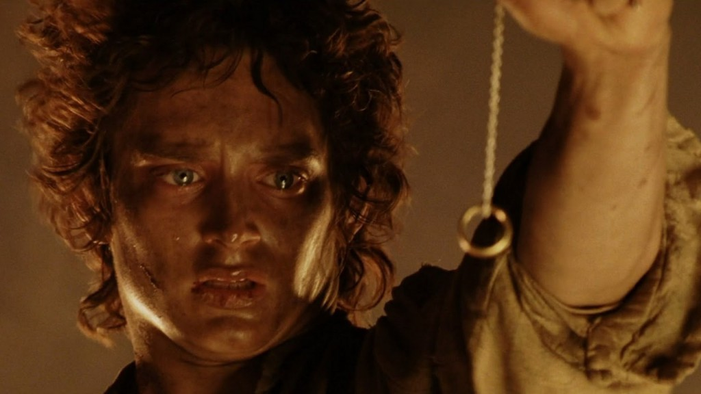 Image result for the one ring in mount doom