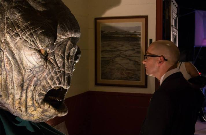 LotR producer Mark Ordesky meets a cave troll
