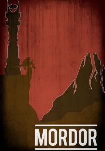 Mordor, by Allen Brockbank