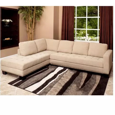 davina sectional sofa ottoman