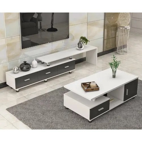 tv stand and centre table set